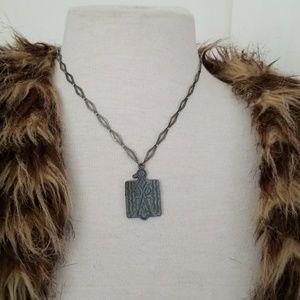 Bohemian thunderbird necklace